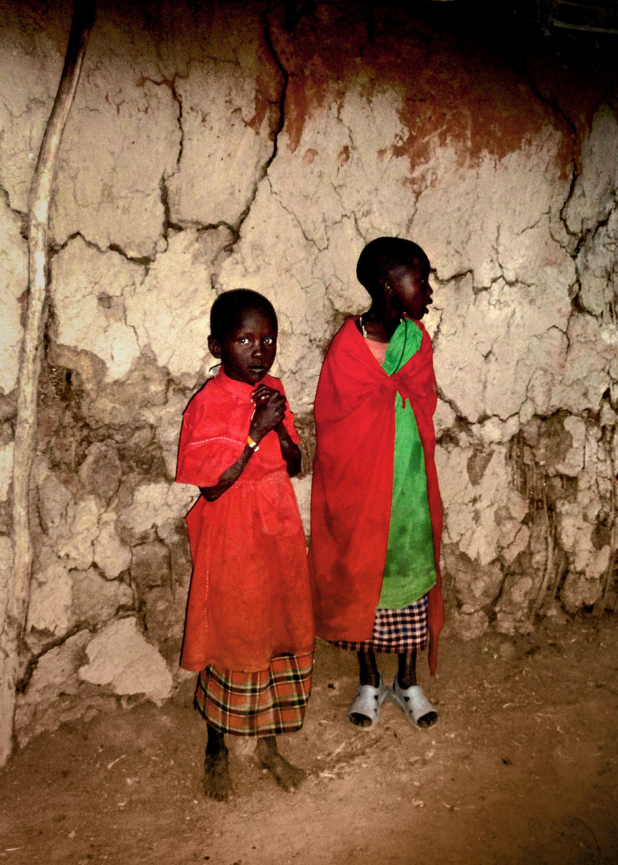 Maasai Kids by Tina Broccoli